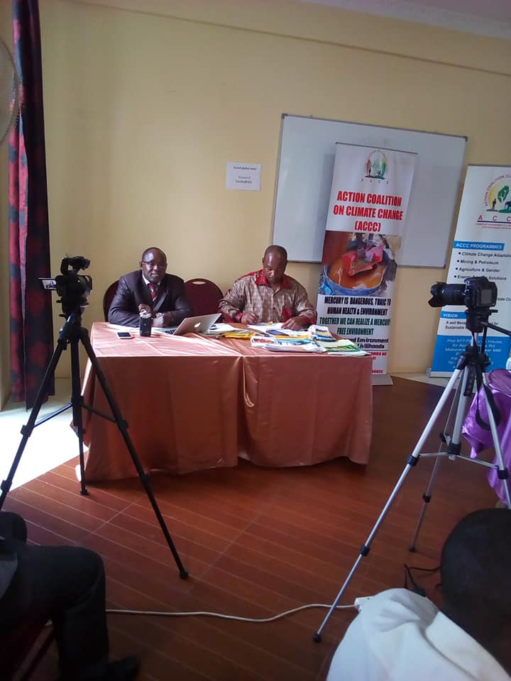 DREAM TV COVERAGE OF THE NATIONAL STAKEHOLDERS' DIALOGUE ON MERCURY USE AMONG ASGM